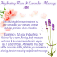 Rose &amp; Lavender Massage